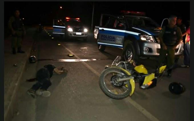 Homem morre em troca de tiros com a policia em Parauapebas, PA
