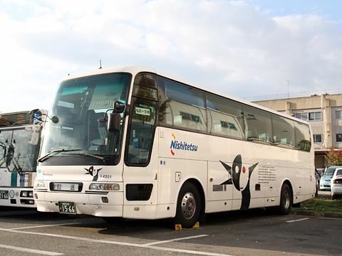 西日本鉄道「フェニックス号」夜行便 4201