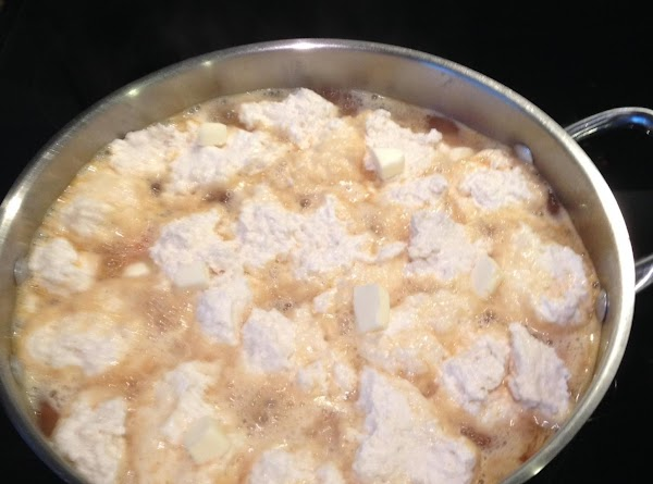 While that is coming to a boil, mix your jiffy and milk.  When...