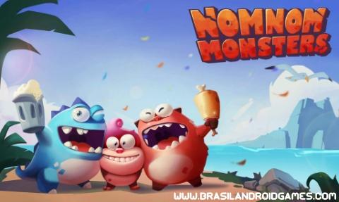 NomNom Monsters Imagem do Jogo