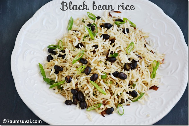 Black bean rice pic 3