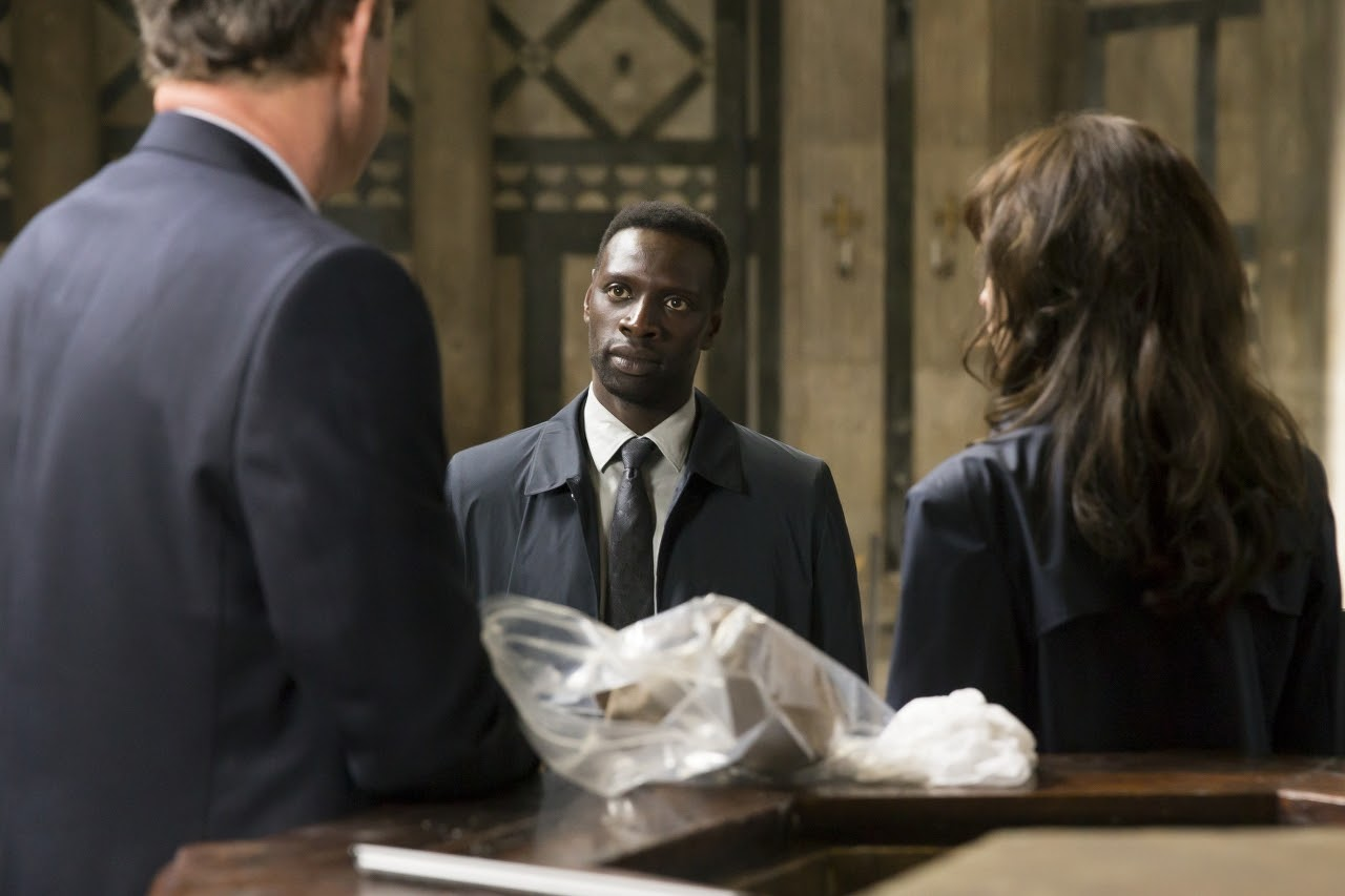 (L-R) Tom Hanks, Omar Sy and Felicity Jones in INFERNO. (Photo by Jonathan Prime / courtesy of Columbia PIctures).
