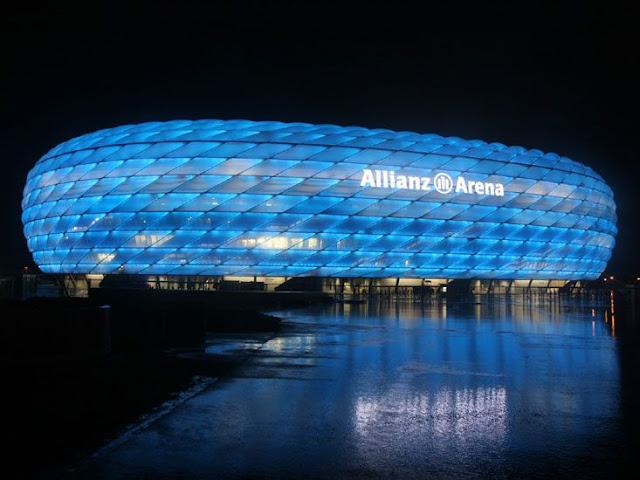 Alianz Arena Estadio   que albergará lfinal liga campeones 2012