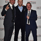 OIC - ENTSIMAGES.COM - Joe Calzaghe, Director -Vaughan Sivell Enzo Calzaghe  at the  Mr Calzaghe - gala film screening in London 18th November 2015Photo Mobis Photos/OIC 0203 174 1069
