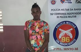 96° CIPM - PRISÃO POR TRÁFICO DE DROGAS EM SENTO-SÉ!