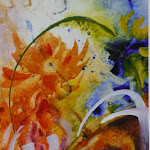 Summer bouquet_Acrylic & WC (20 x 16) (PC).JPG