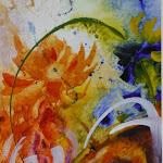 Summer bouquet_Acrylic & WC (20 x 16) (PC).JPG