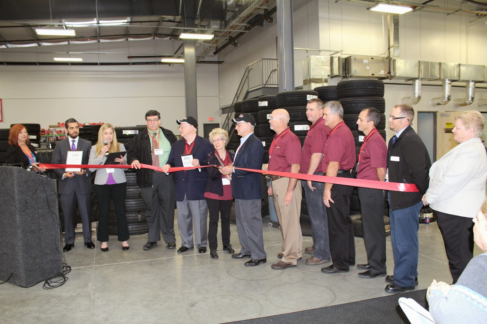 Purcell Tire would like to thank all those that attended our ribbon cutting event.  Over 400 people attended even with pouring rain.  We know that this is a great sign of things to come.  We look forward to serving the Tucson market with the best and brightest facility, equipment, products and most important people.