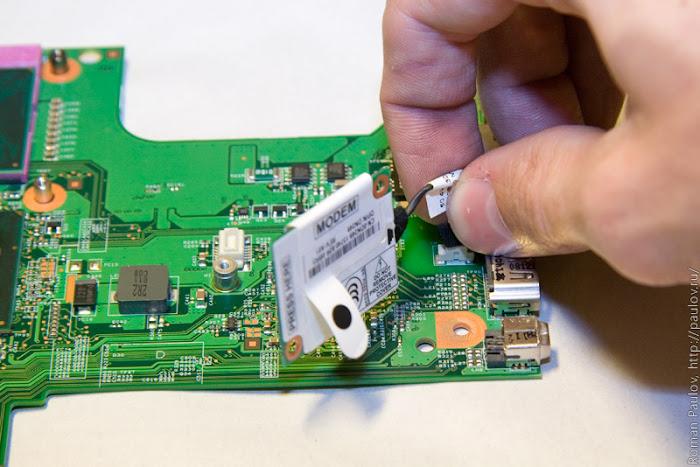 Как разобрать ноутбук Dell Inspiron 1525 57