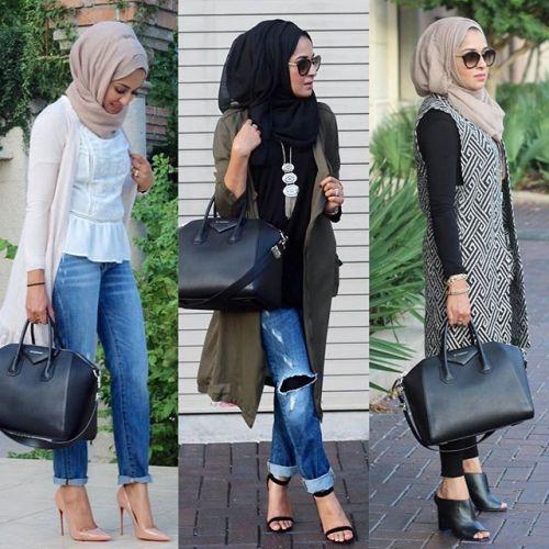Stylish Hijab Fashion Trend This Fall Fashion Qe