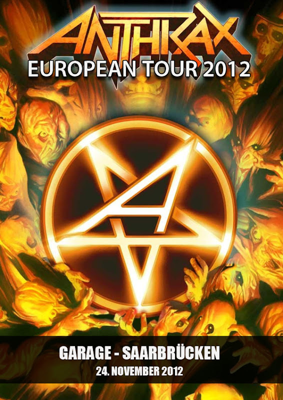 Anthrax - European Tour 2012