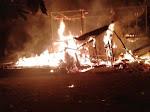 Rumah Berbahan Kayu di Cot Geurufai Ludes Terbakar
