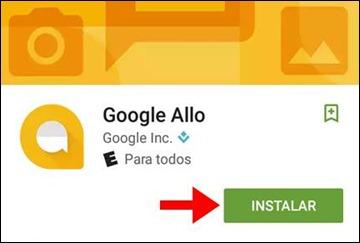 Abrir mi cuenta Google Allo - 604