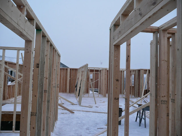 Building of new home in Waukesha, WI - P1030353.JPG