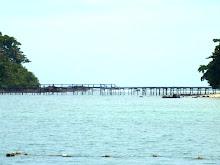 สะพานเชื่อมเกาะเหลายาในกับเกาะเหลายกลาง