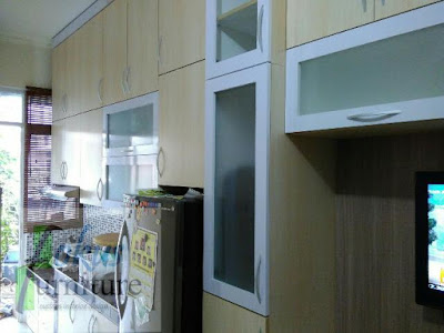 kitchen set minimalis full plafon