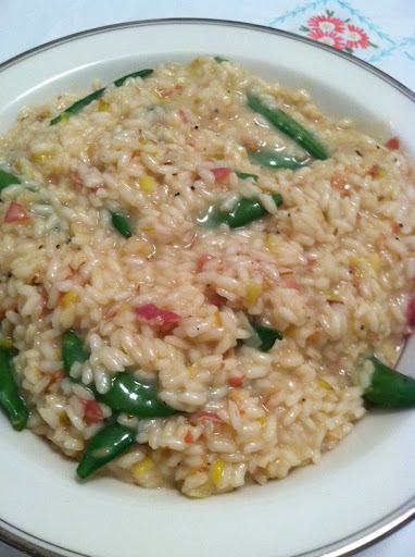 Risotto with Leeks and Sugar Snap Peas – The Simply ...