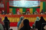 Bank Aceh Syariah Cabang Tapaktuan Bersama PT Taspen Gelar Sosialisasi BUP ASN Lingkup Pemerintah Aceh Selatan