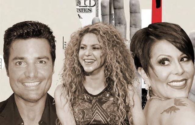 Chayanne, Shakira y Alejandra Guzmán entre los artistas iberoamericanos que se beneficiaron de estructuras offshore