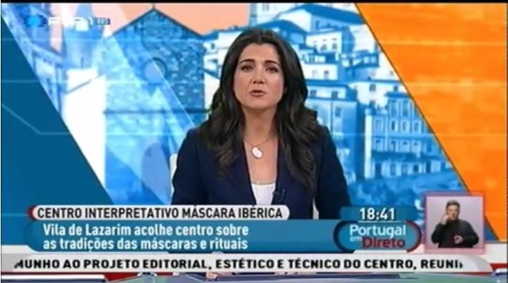 Reportagem RTP - Inauguração do Centro Interpretativo da Máscara Ibérica - Lazarim