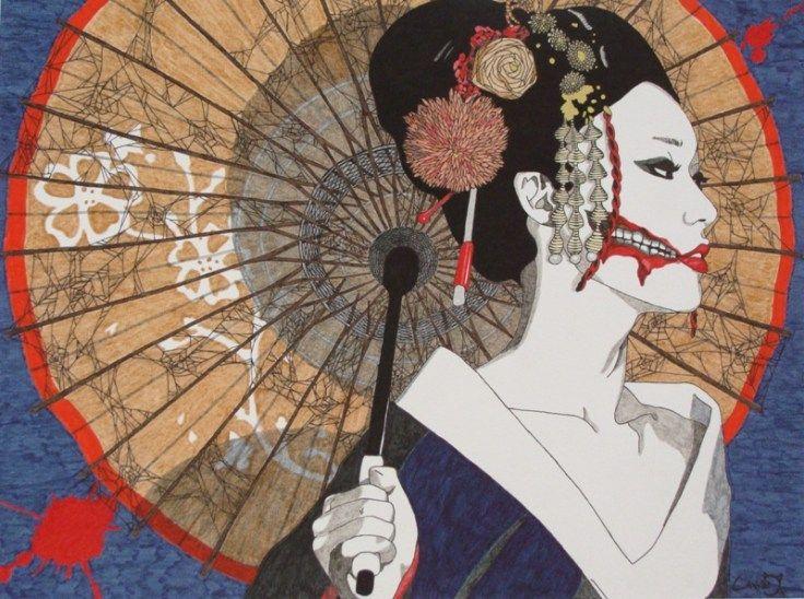 Kuchisake-onna leyenda de terror japonesa