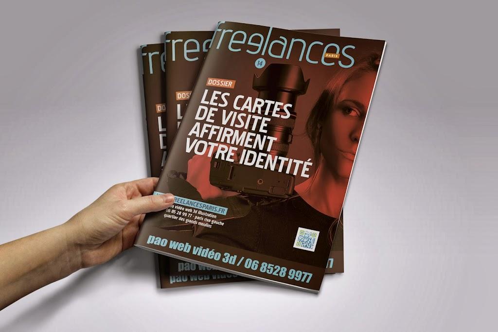 magazine Freelances PAO Les cartes de visite affirment votre identité