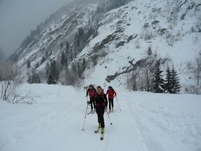 Photo: di cui fanno parte 4 pseudo scialpinisti alle prime armi