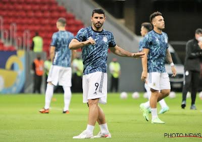 Sergio Agüero entrevoit le bout du tunnel