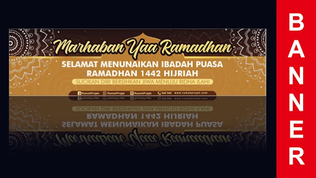 Download Desain Banner Ramadhan Corel Draw Gratis