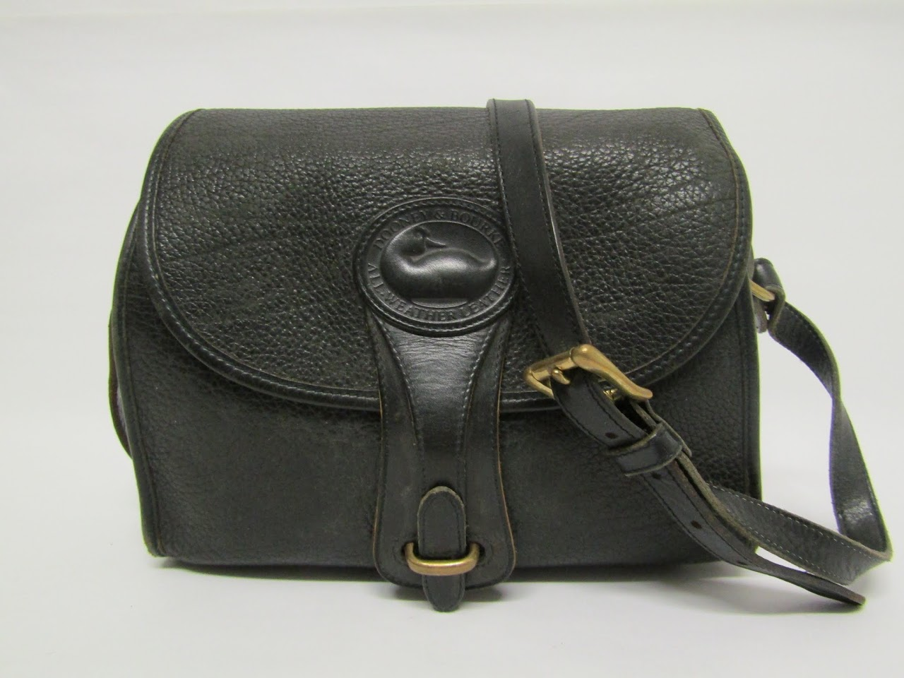 Dooney & Bourke Vintage Black Crossbody Bag