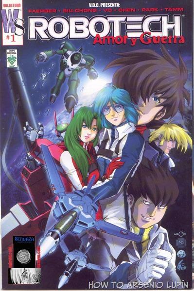 2016-01-31 Robotech (Ed.Wildstorm)