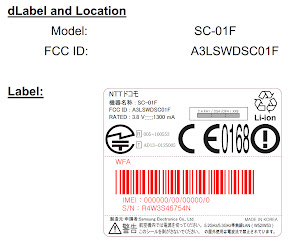 Galaxy Note3 SC-01F FCC