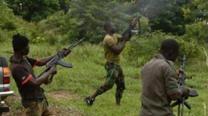 Gun men ambush  Kuregu community, kills two