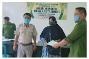 Distribusikan Sertifikat, Tim PTSL Karyamukti Pastikan Bebas Pungli