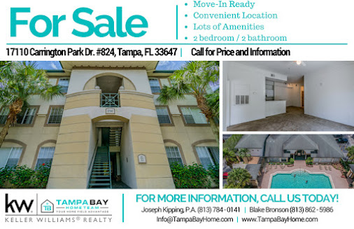 ** 👉Just Listed! 👈** MOVE-IN READY 2/2 condo on top floor of the active Jade of Tampa Palms 🌴 community...