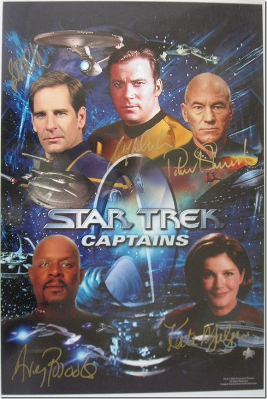 03 Star Trek All Series Captains