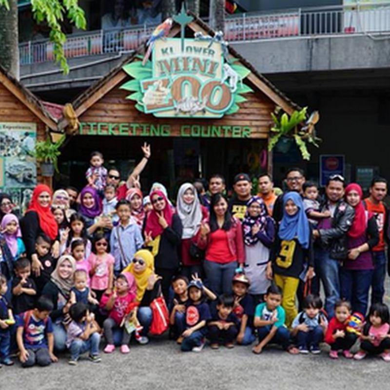 Jom bawa anak anda ke KL Tower Mini Zoo !