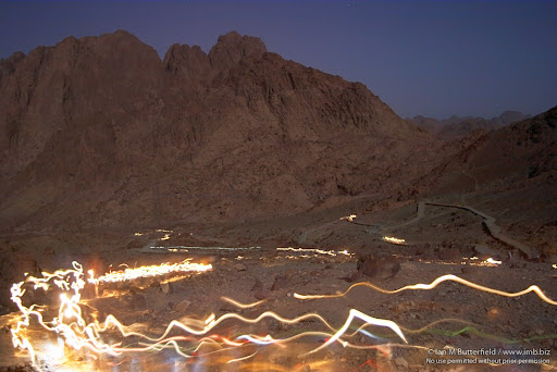 POTD: Tourists on Mt Sinai