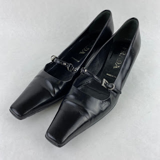 SALE* Prada Black Kitten Heels