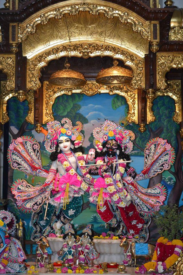 ISKCON Ujjain Deity Darshan 3 April 2016  (2)