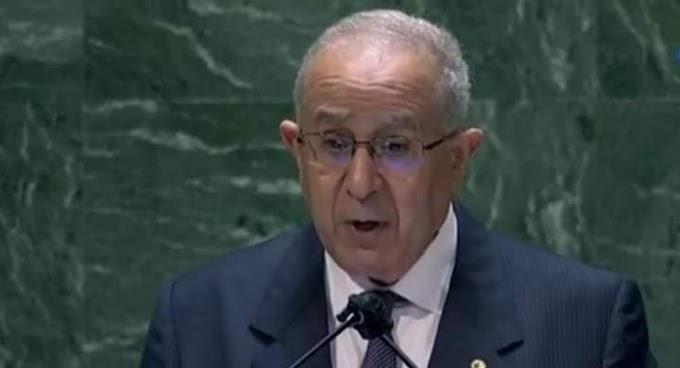 """Argelia reivindica en la Asamblea General el """"imprescriptible"""" derecho del pueblo saharaui a la autodeterminación."""