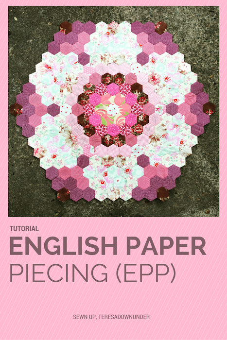 English paper piecing (EPP) tutorial