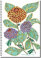 381 Zentangle Flowers