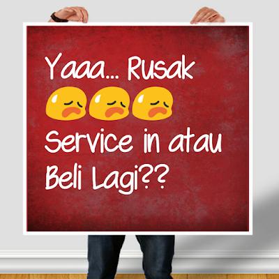 service atau beli?