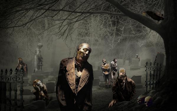 Clock Work Zombies, Evil Creatures