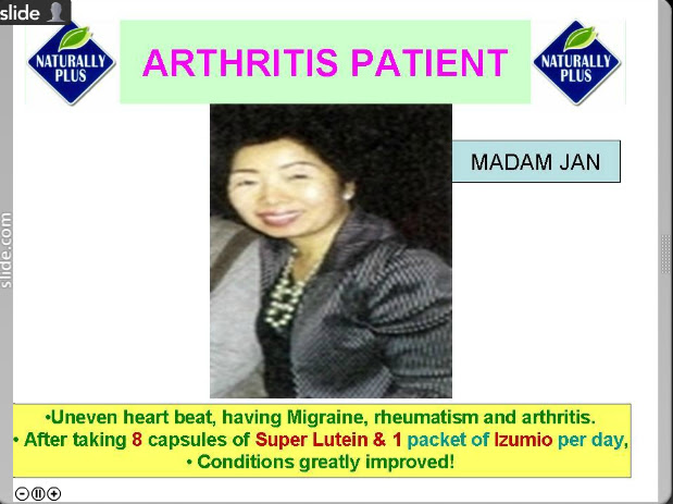 artritis Testimonial Naturally Plus