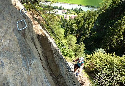 Klettersteig Mayrhofen : Klettersteig pfeilspitzwand mayrhofen am 22.06.2011