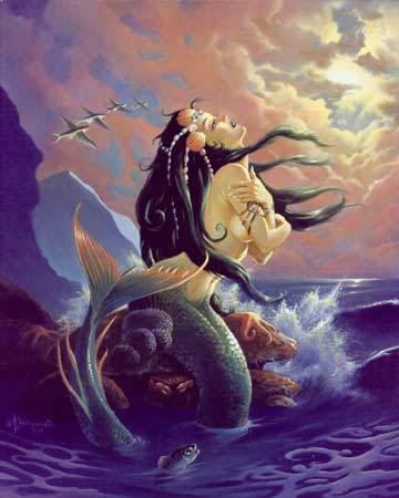 Mysterious Mermaid, Mermaids