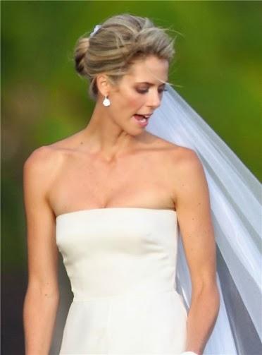 Peinados de novia famosas