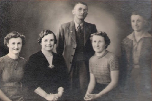 John Harold Griffin and Family